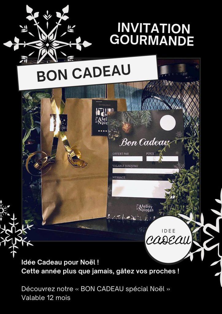 """Bon cadeau """"spécial noël"""" à l'Atelier de Nicolas - Aigues-Mortes"""